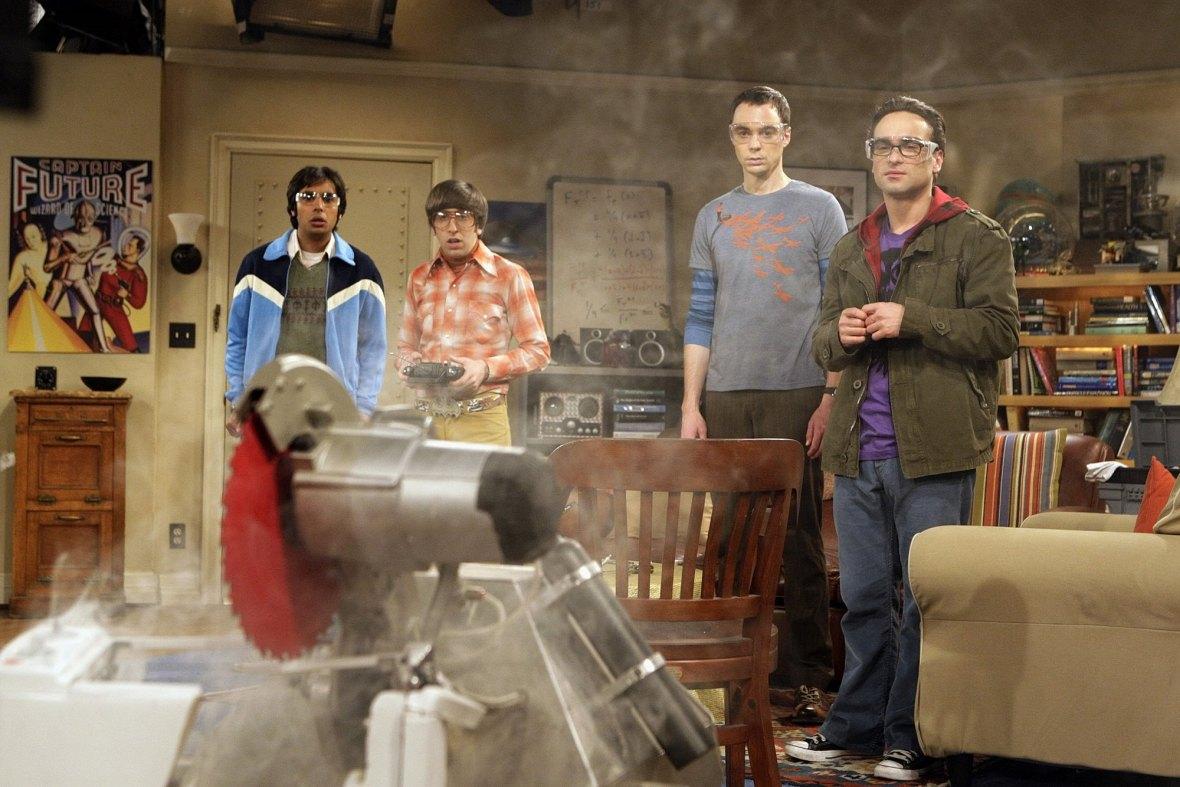 big bang theory - group