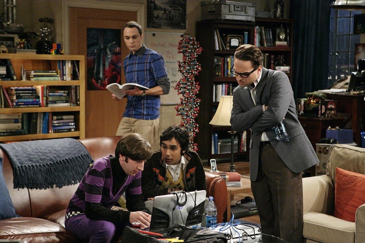 big bang theory - jim learning lines