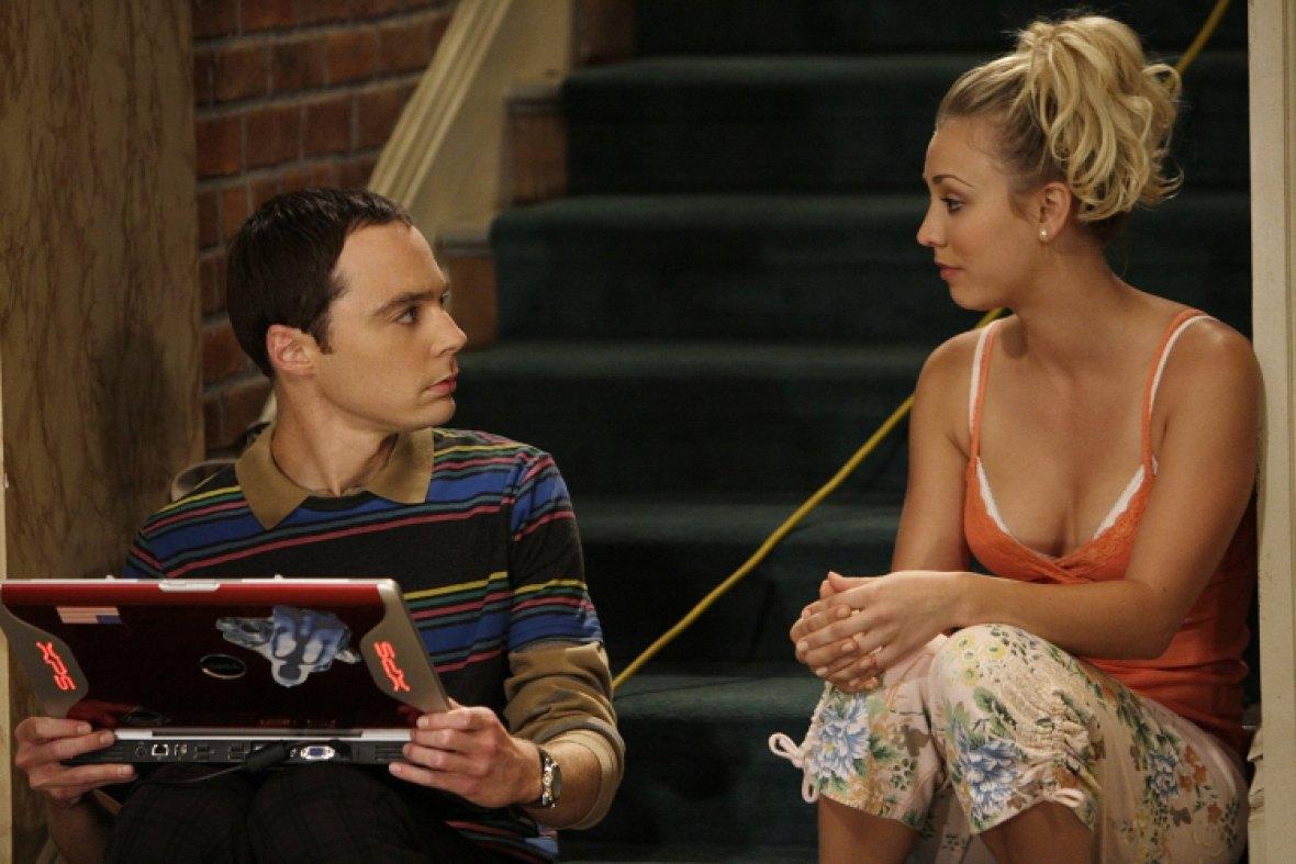 big bang theory - jim and kaley
