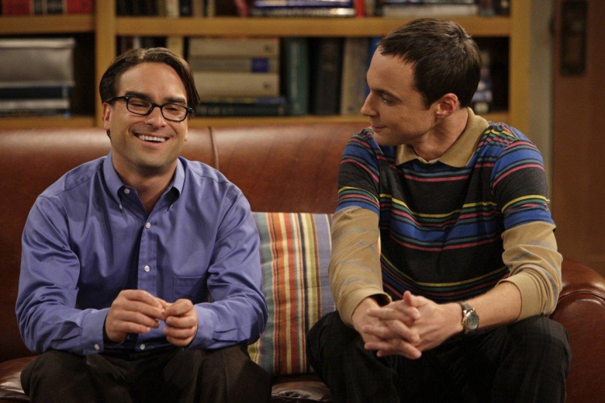 big bang theory - sheldon and leonard