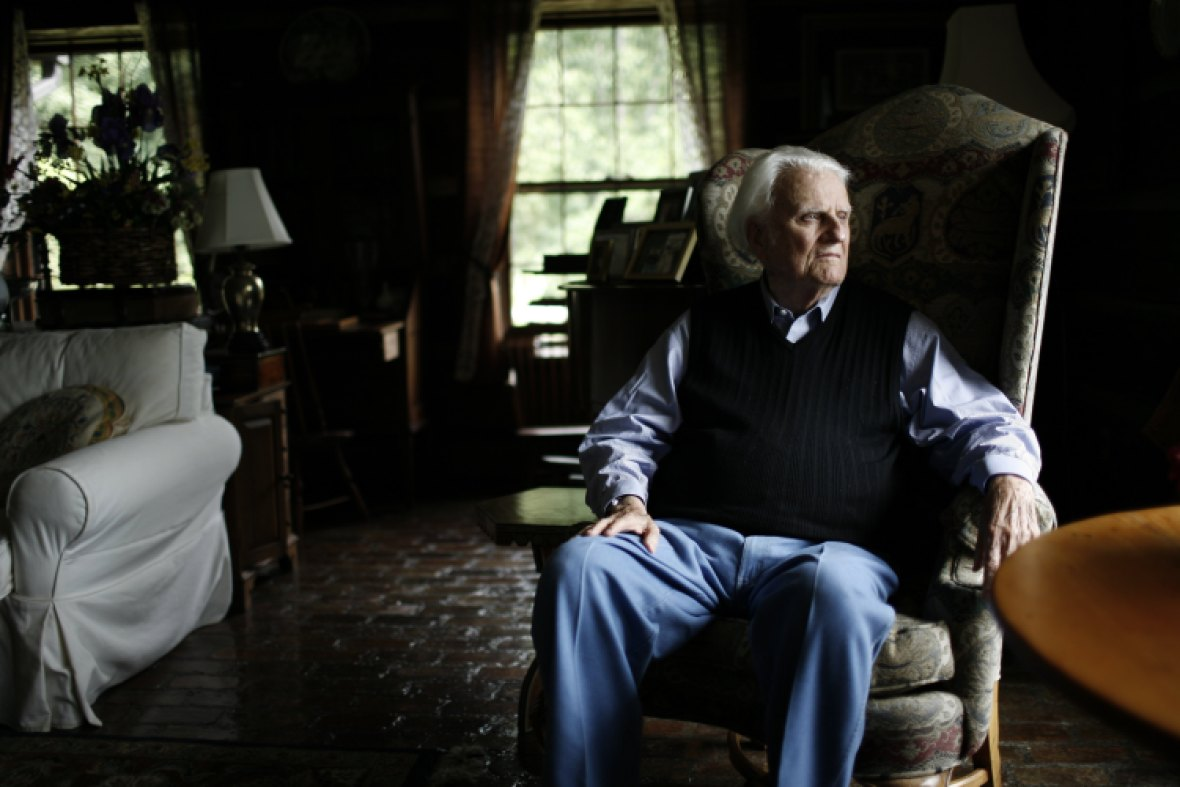 billy graham getty images