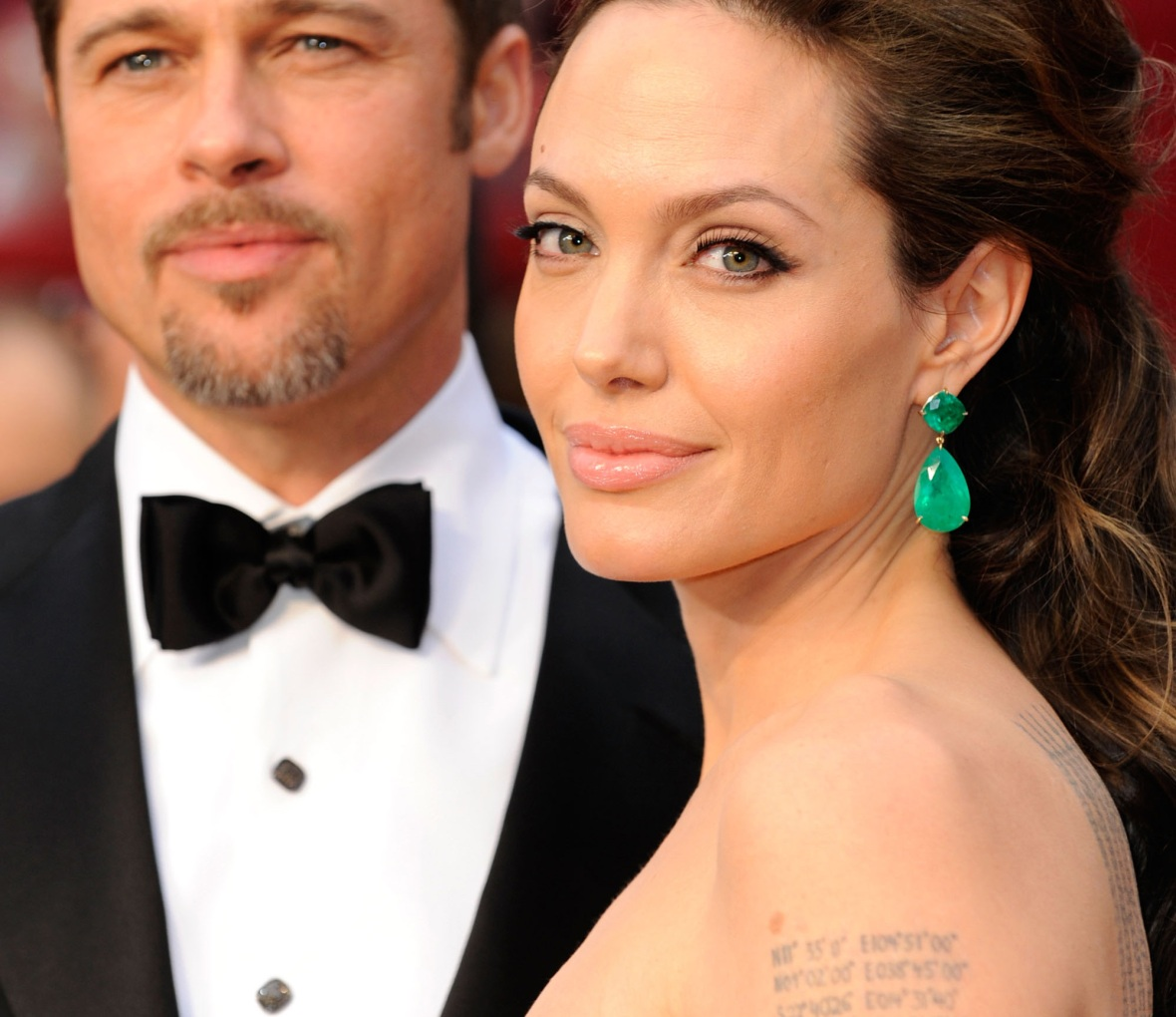 brad pitt angelina jolie getty images