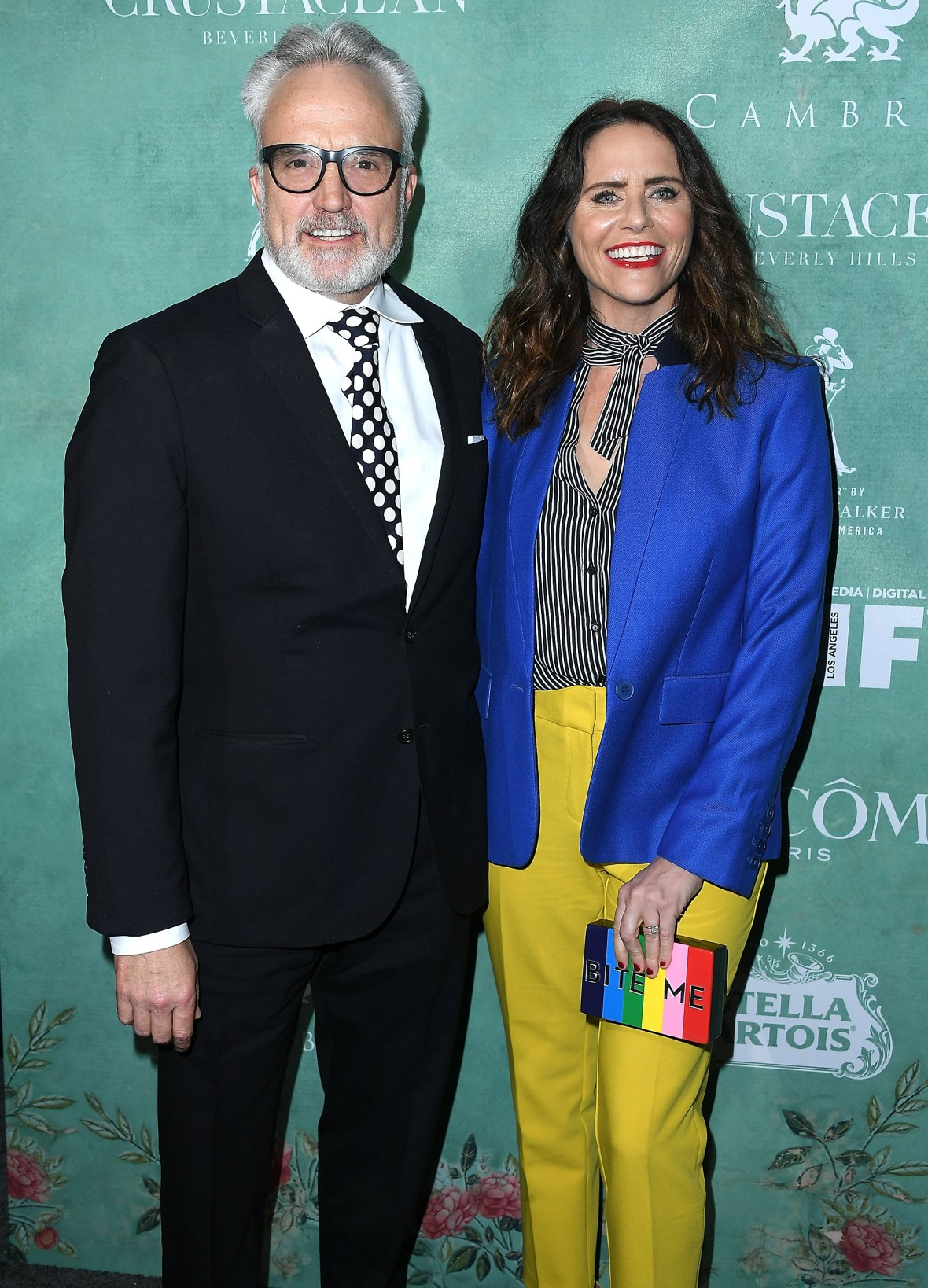 bradley whitford amy landecker getty images