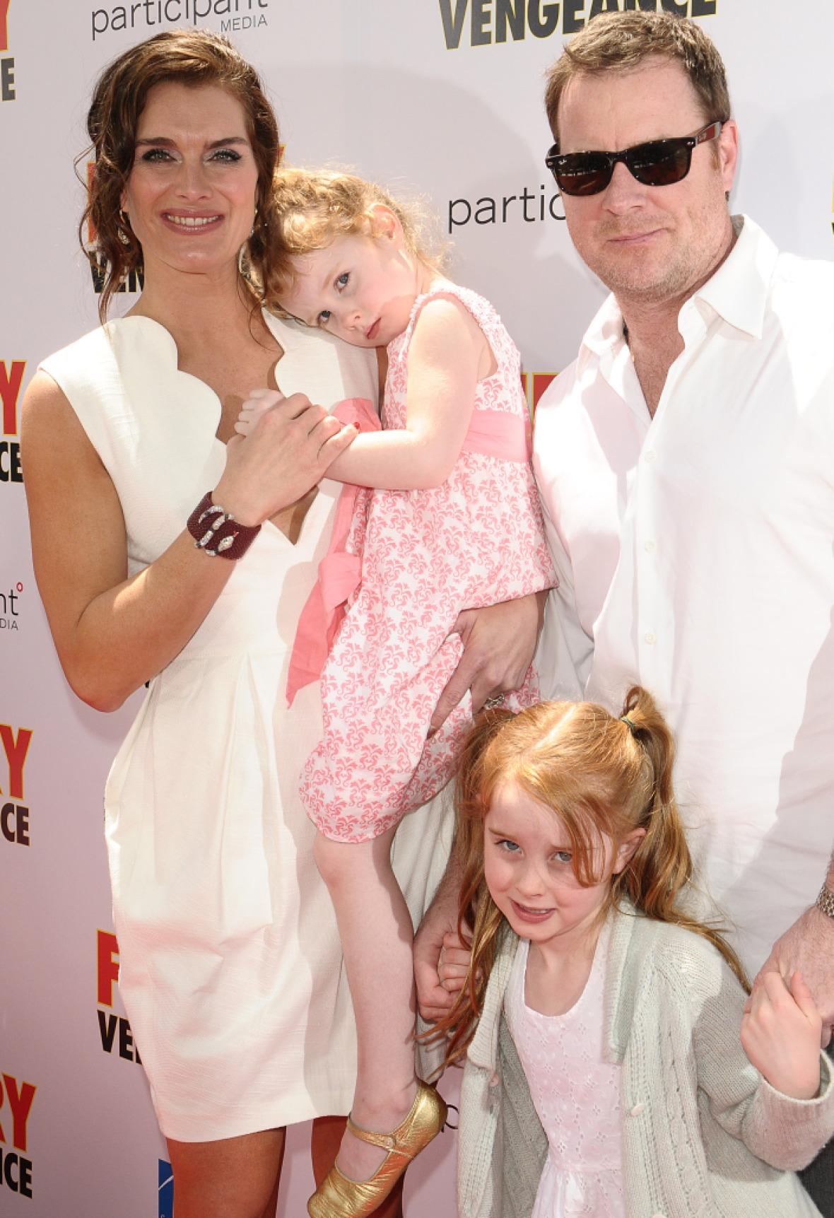 brooke shields family getty images