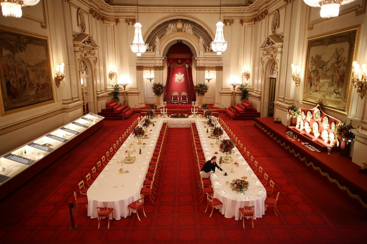 buckingham palace ballroom getty