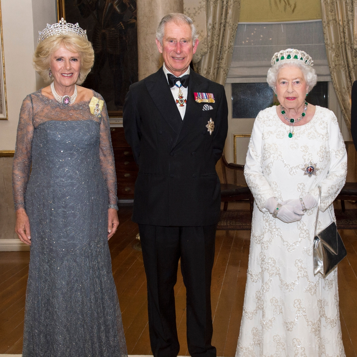 queen elizabeth camilla duchess of cornwall prince charles getty images