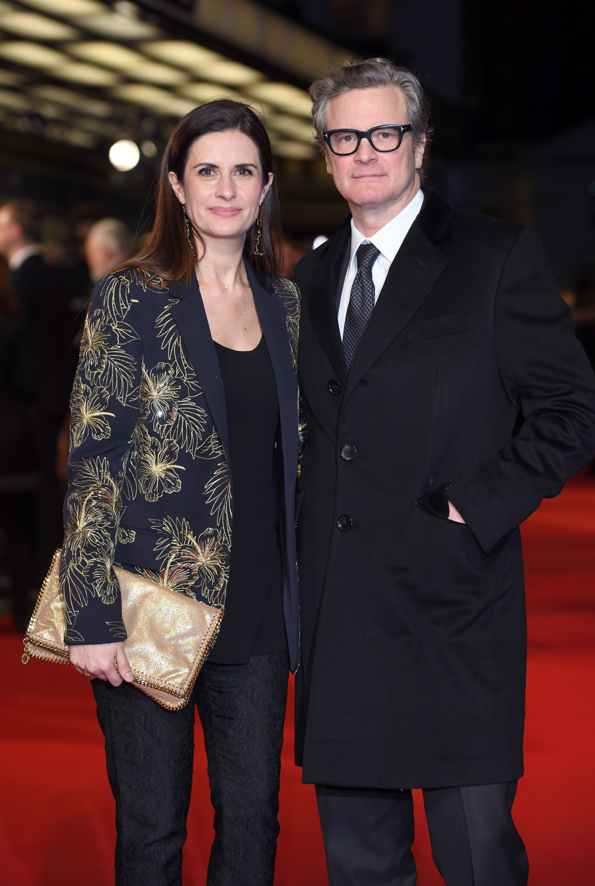 colin firth and his wife livia getty images