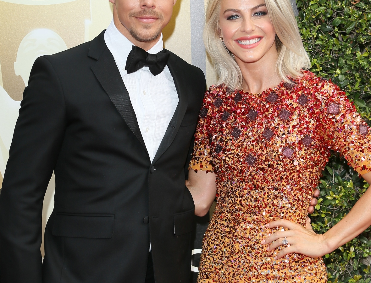 derek hough julianne hough getty images