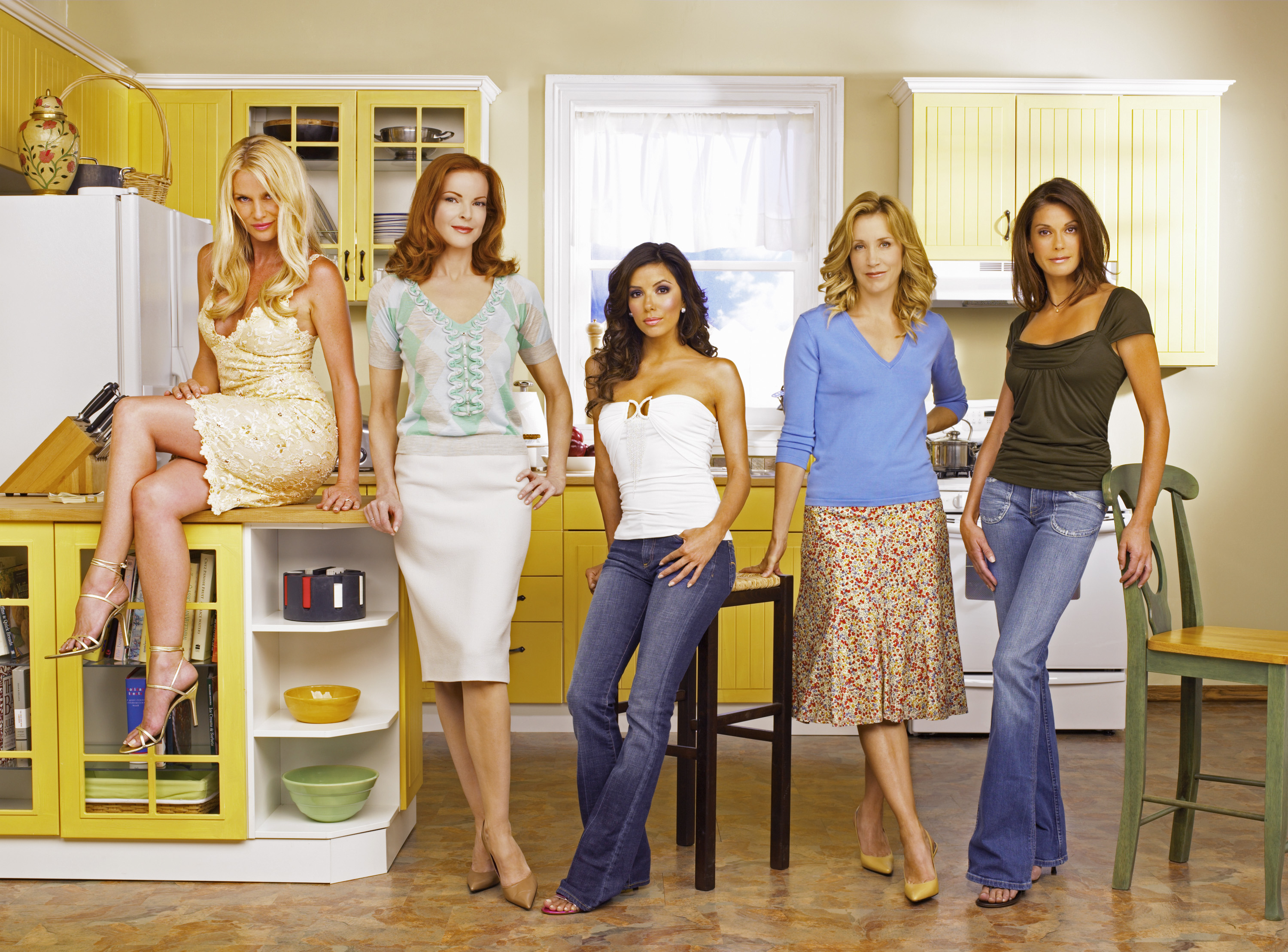 Desperate Housewives Cast See The Show S Stars Then And Now