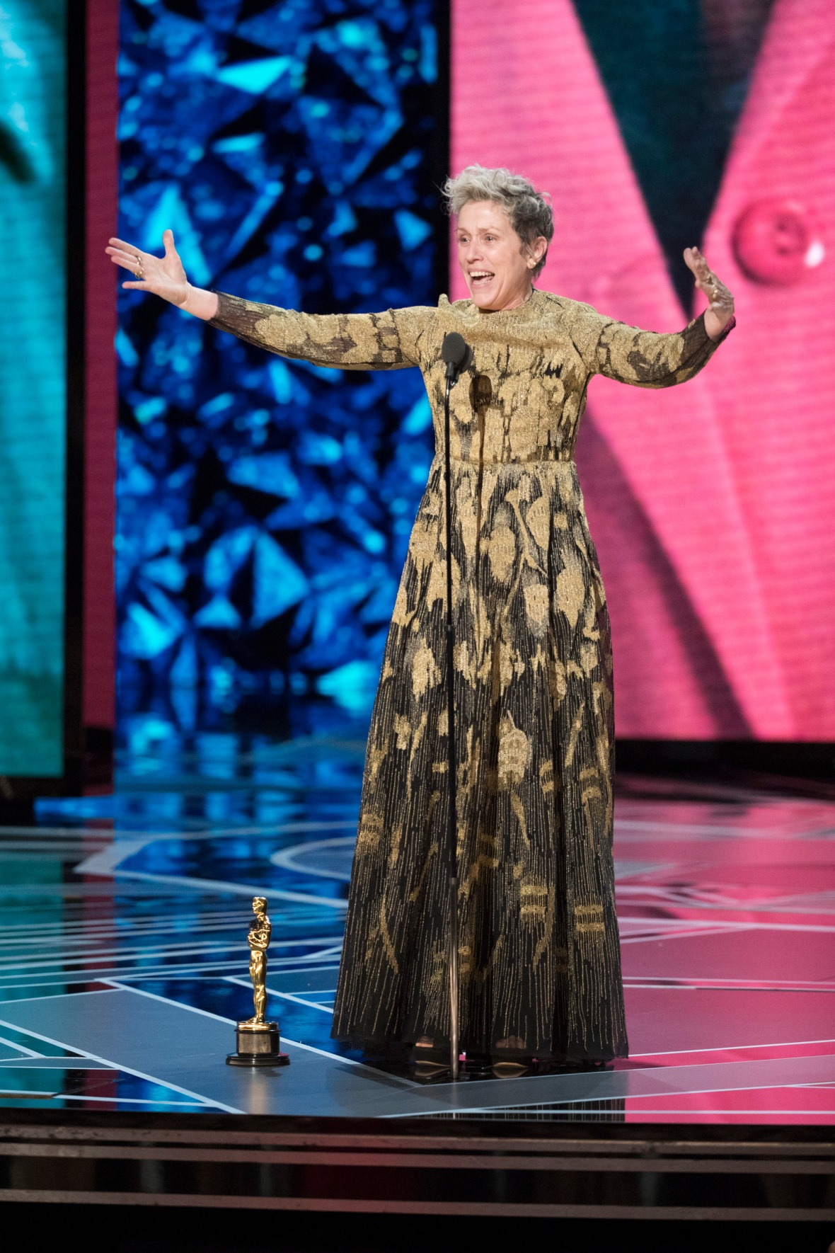 frances mcdormand oscars getty images