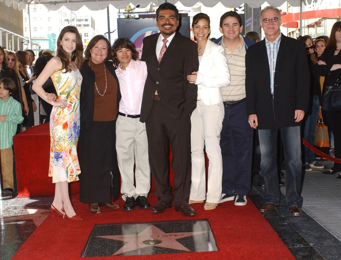 'george lopez' cast getty images