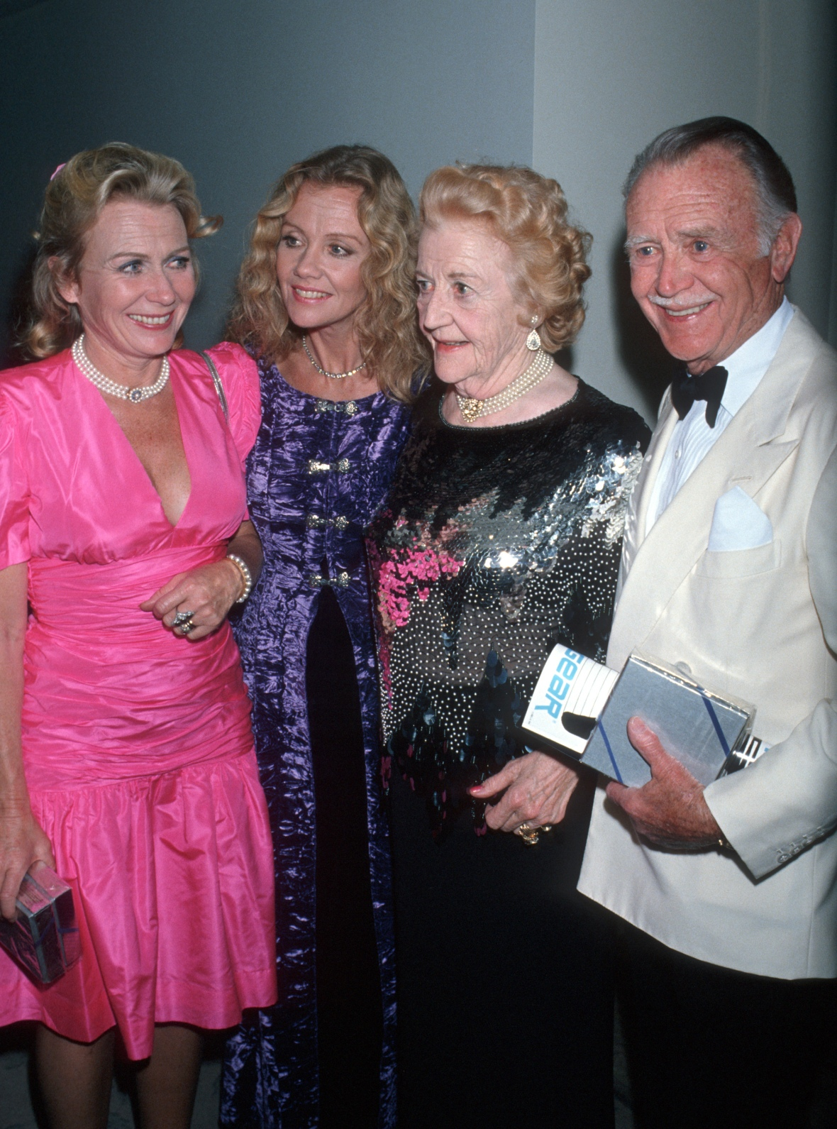 hayley mills and her family getty images