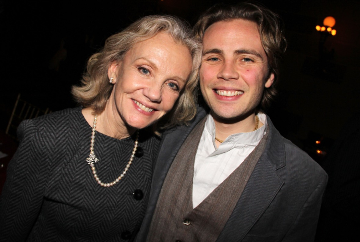 hayley mills and her son jason getty images