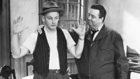 Art Carney an Jackie Gleason in The Honeymooners