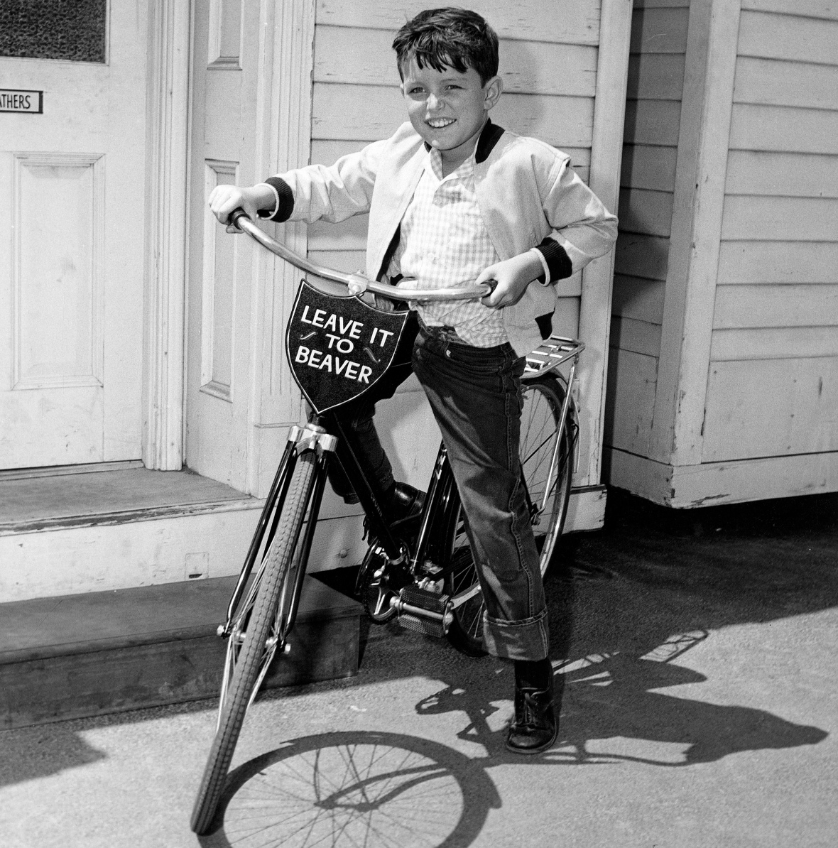 jerry mathers - bike