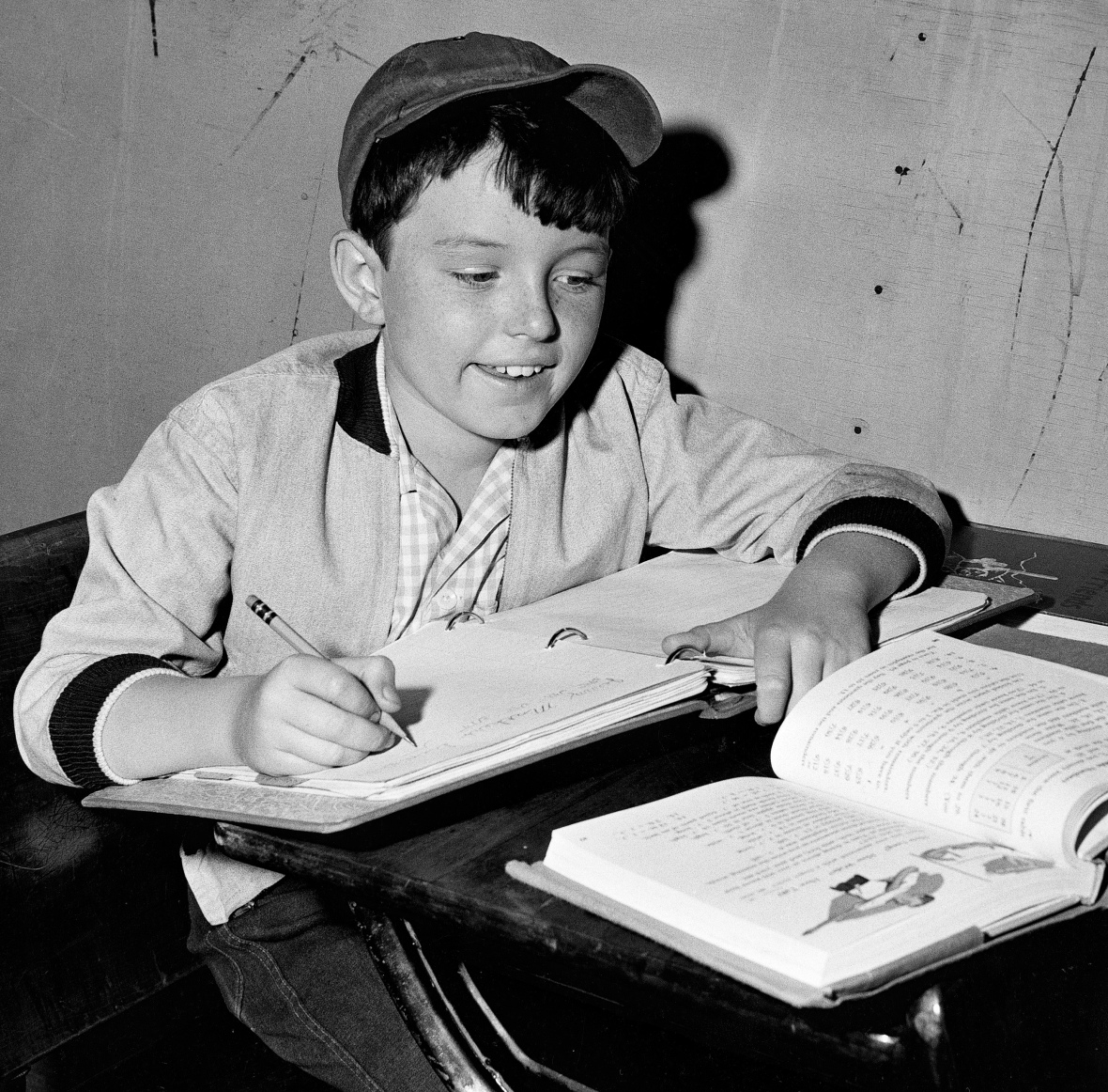 jerry mathers - tutor