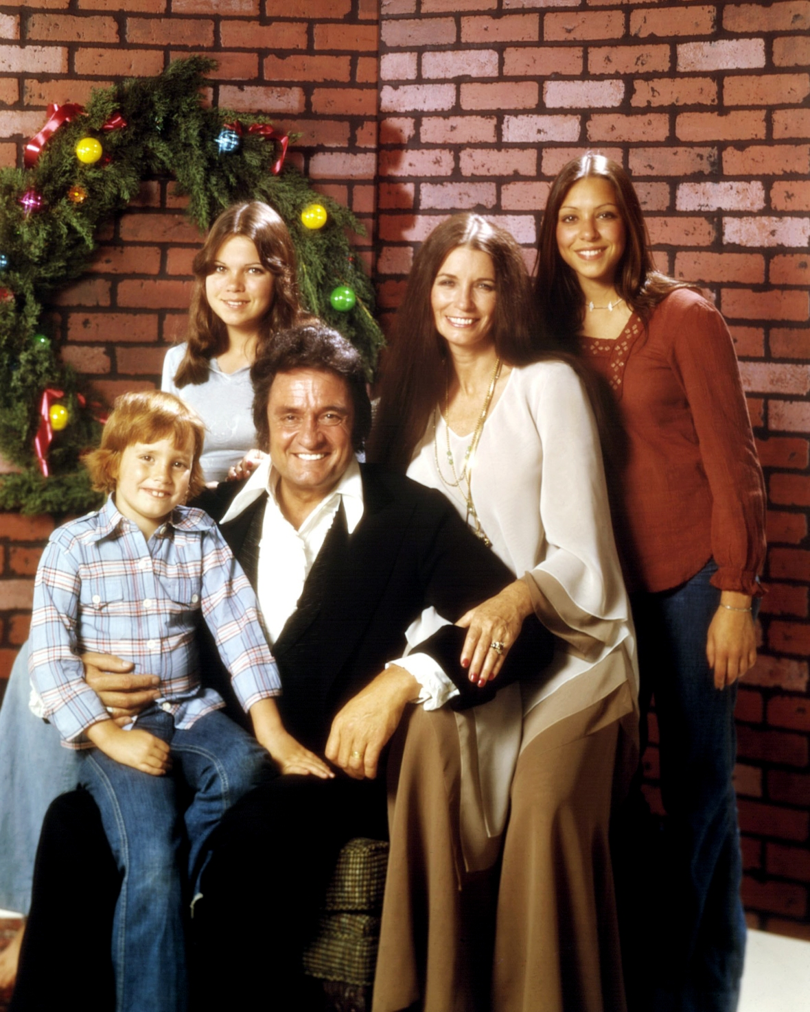 johnny cash family getty images