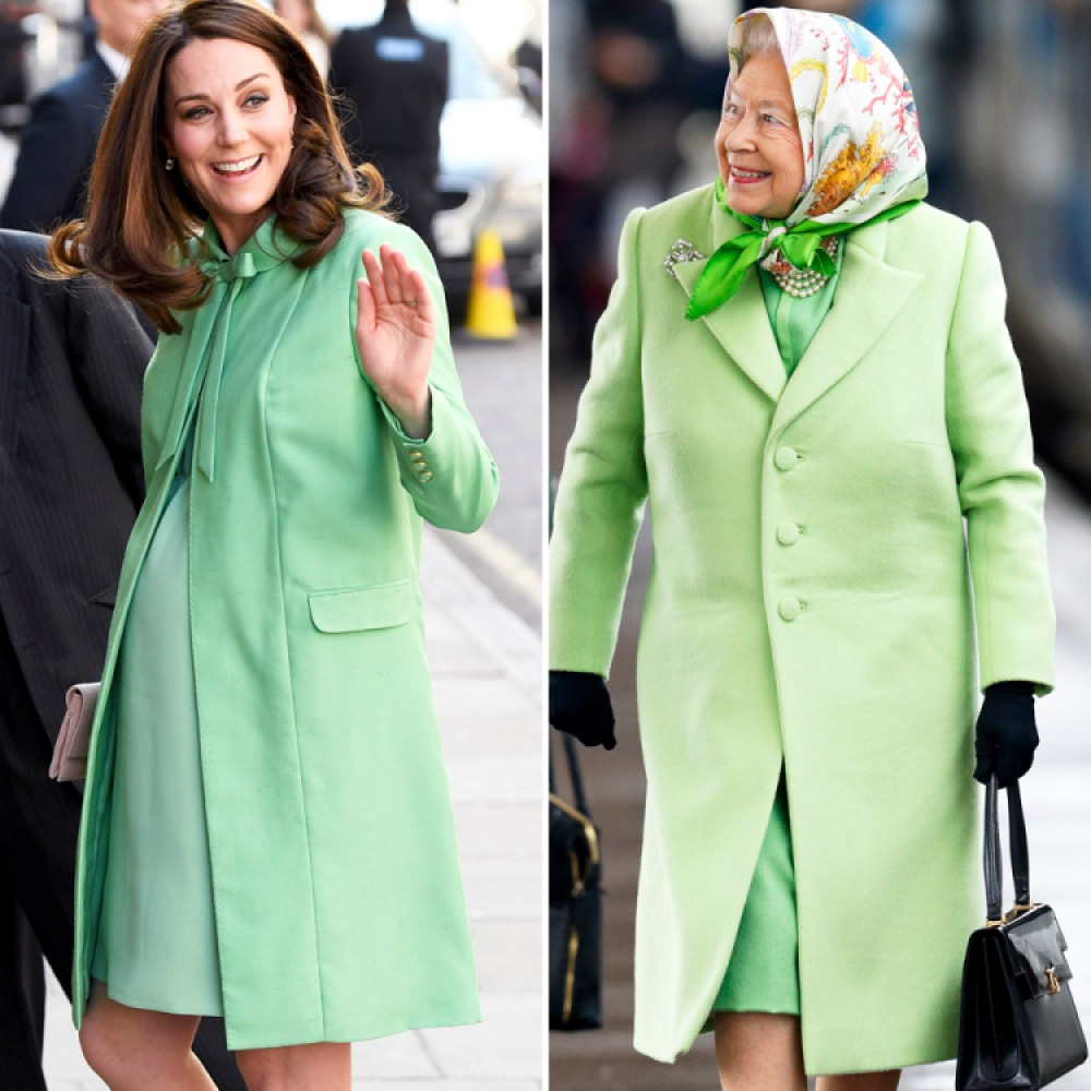 kate middleton queen elizabeth getty images