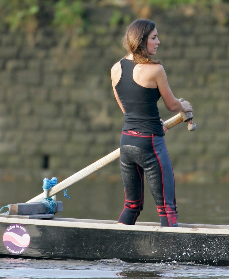 kate middleton rowing getty
