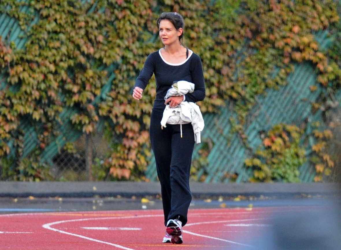 katie holmes getty images