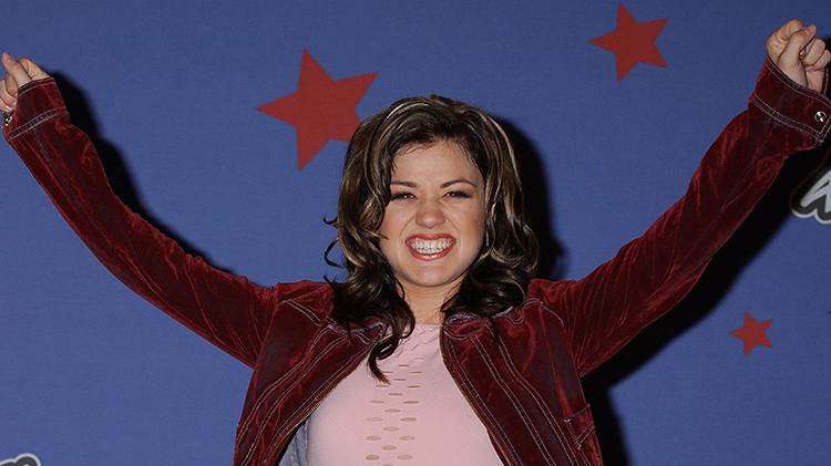 kelly clarkson 'american idol' getty images