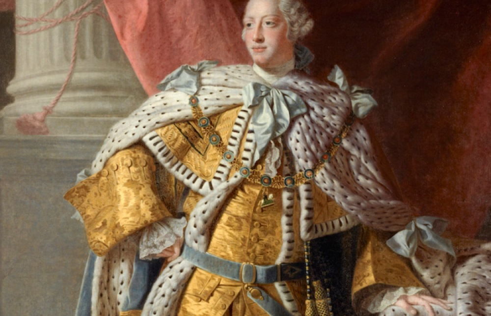 king george iii getty images