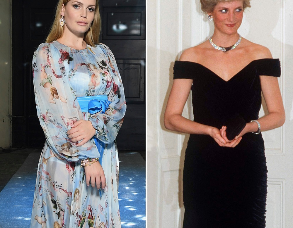kitty spencer and princess diana crown getty images