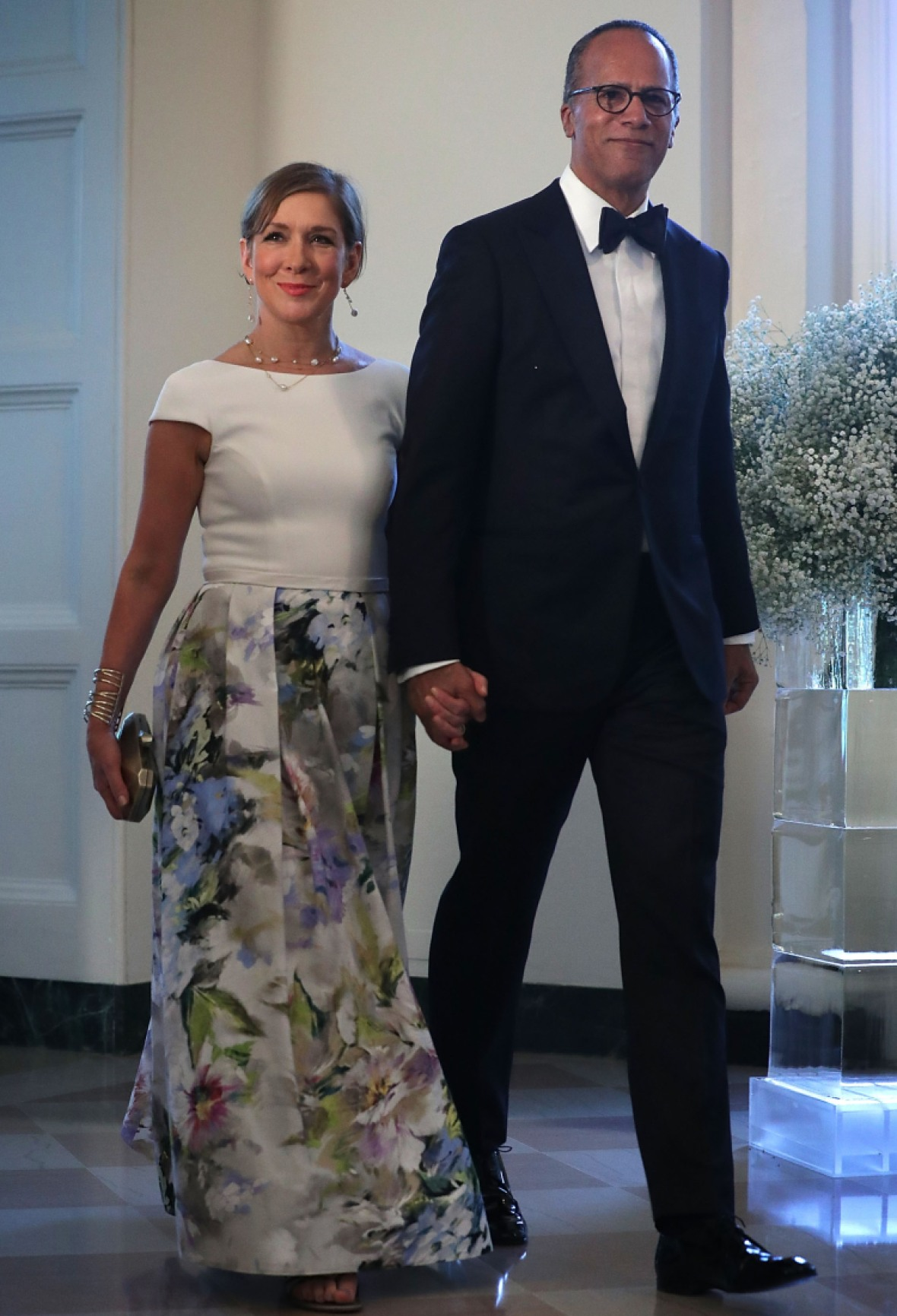 lester holt wife getty images
