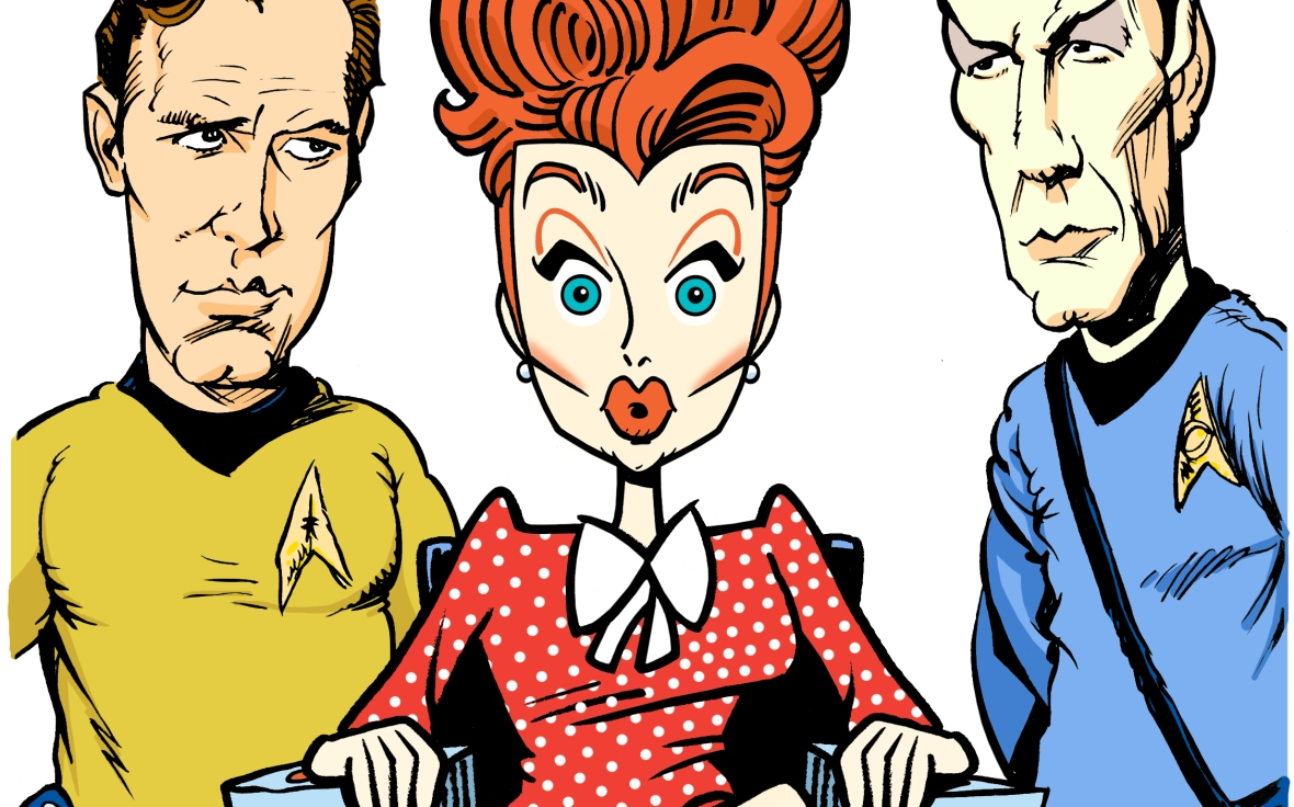 lucy - star trek: lucy color