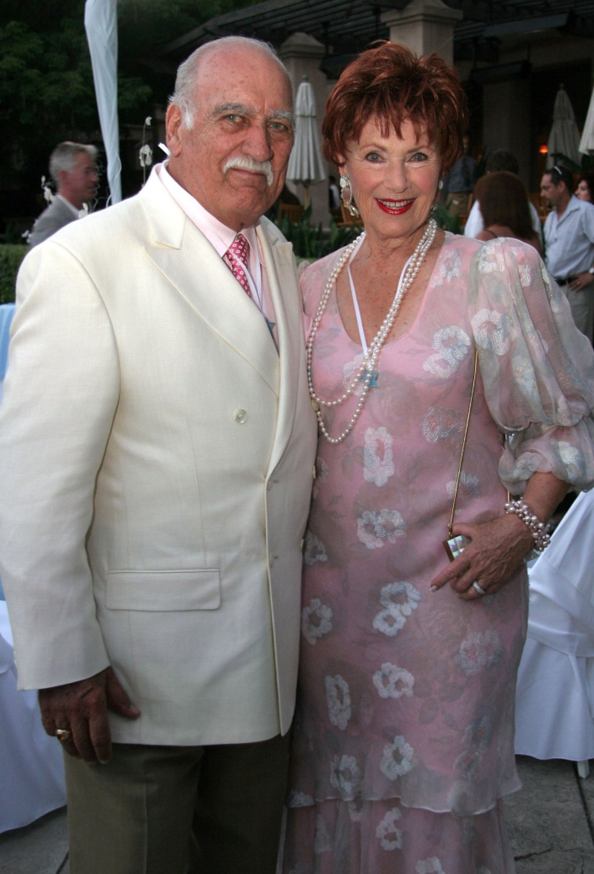 marion ross and her husband getty images