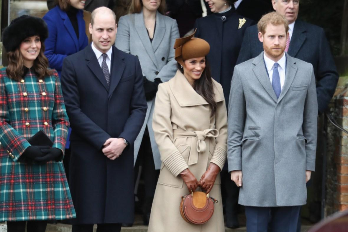 meghan markle royal family christmas