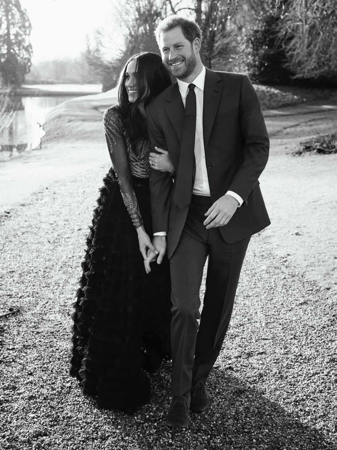 prince harry and meghan markle engagement getty images