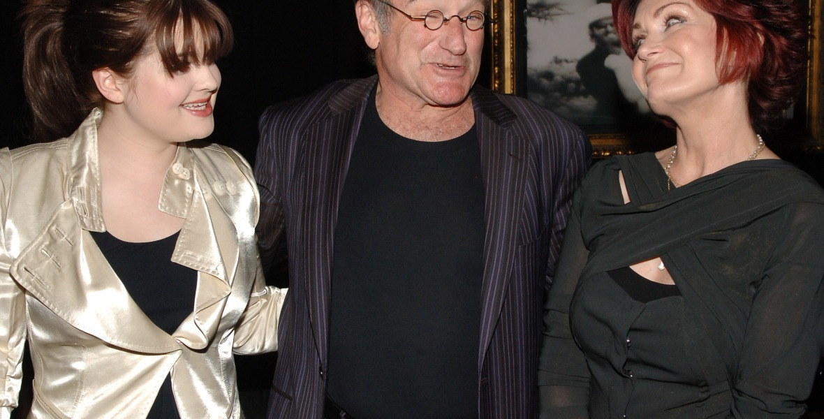 osbournes robin williams getty images