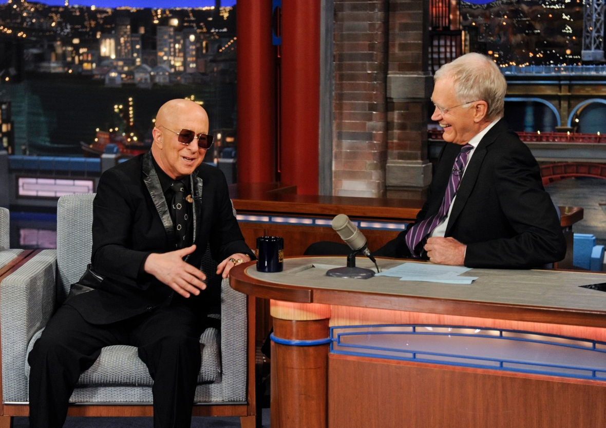 paul shaffer and david letterman getty images