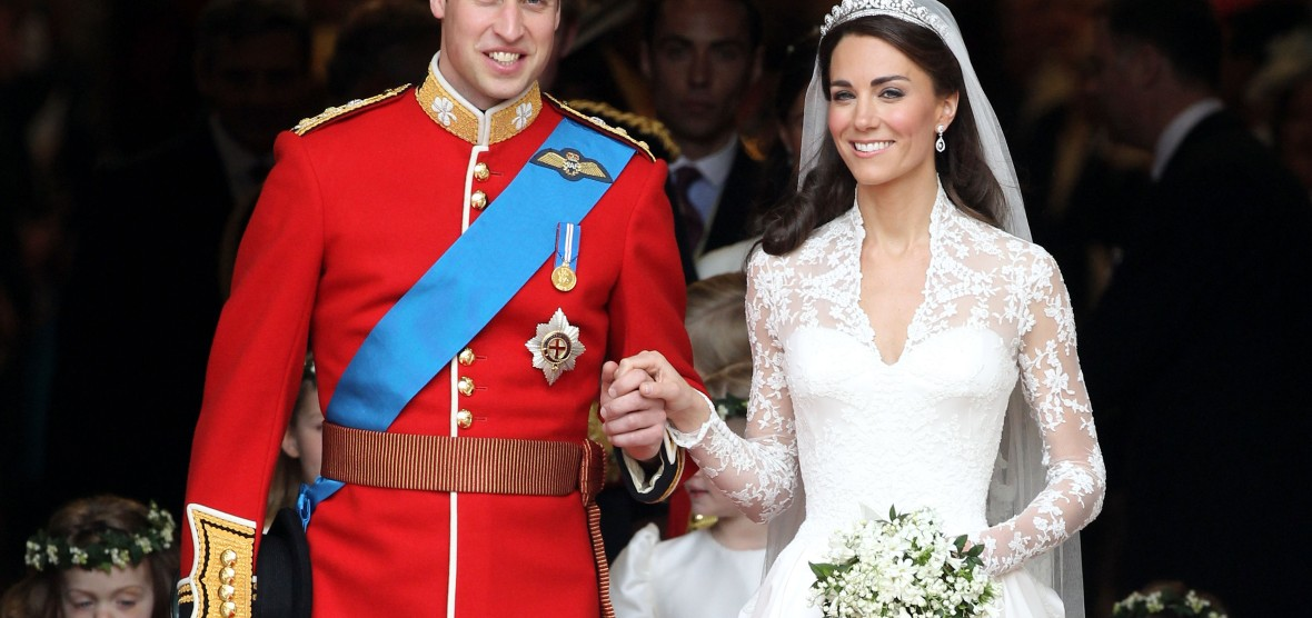 prince william and  kate middleton wedding — getty images