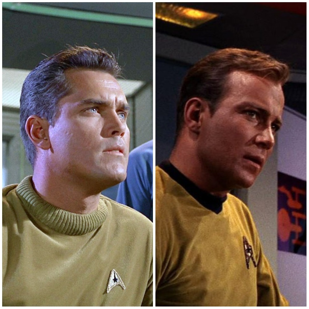 lucy - star trek: jeffrey hunter and william shatner