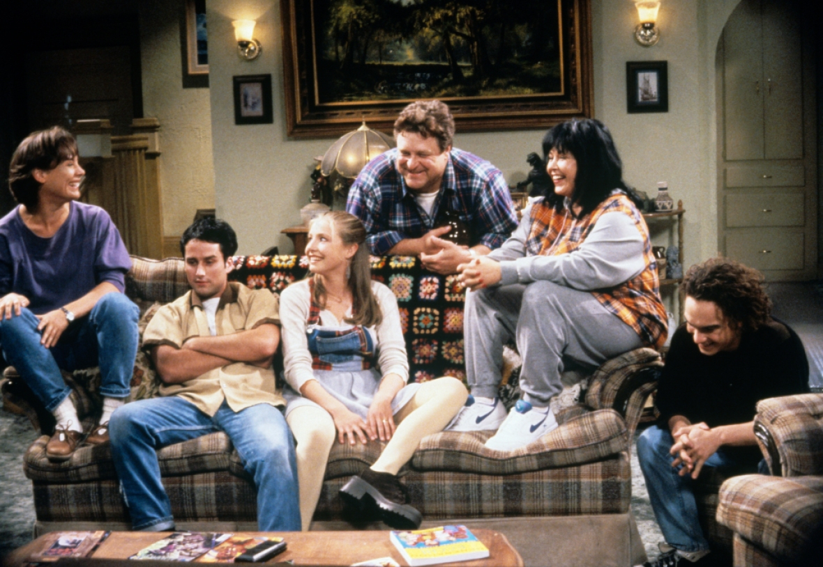 roseanne cast getty images