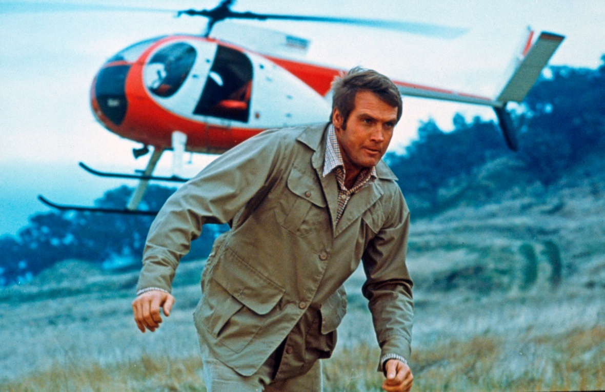 six million dollar man - helicopter