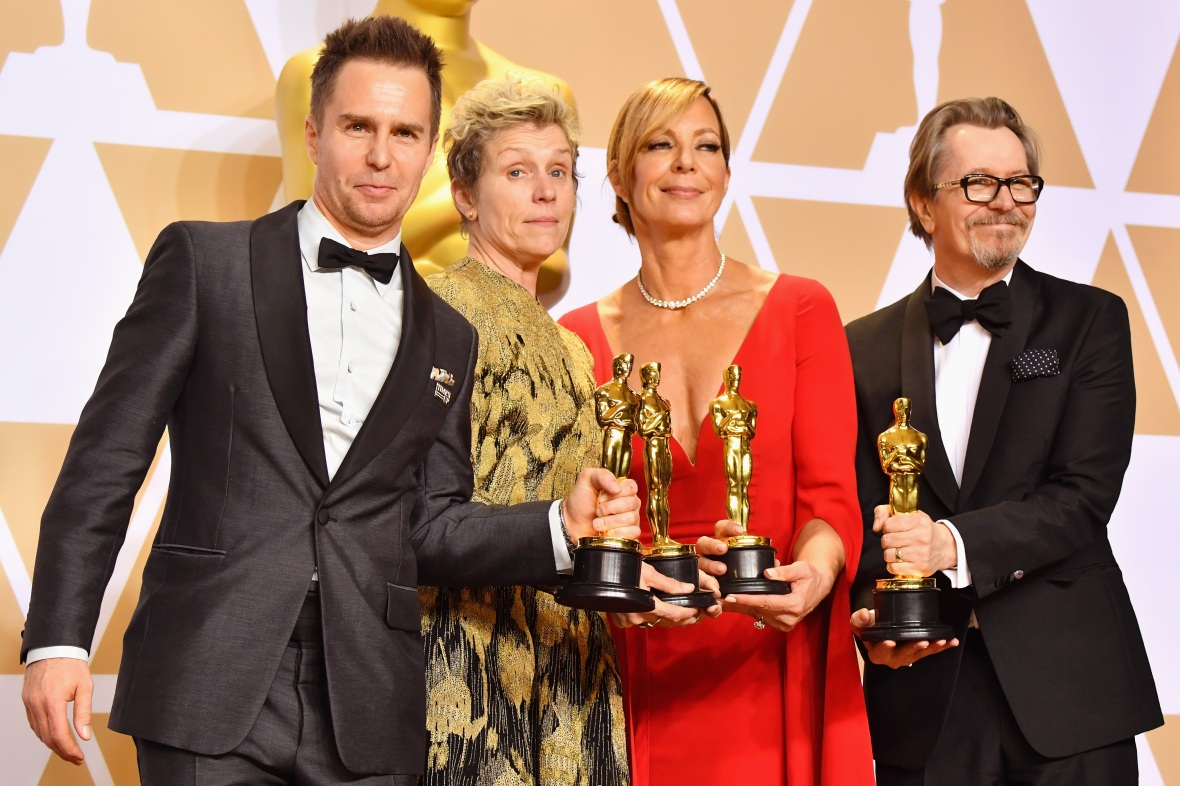 three billboards oscar getty images