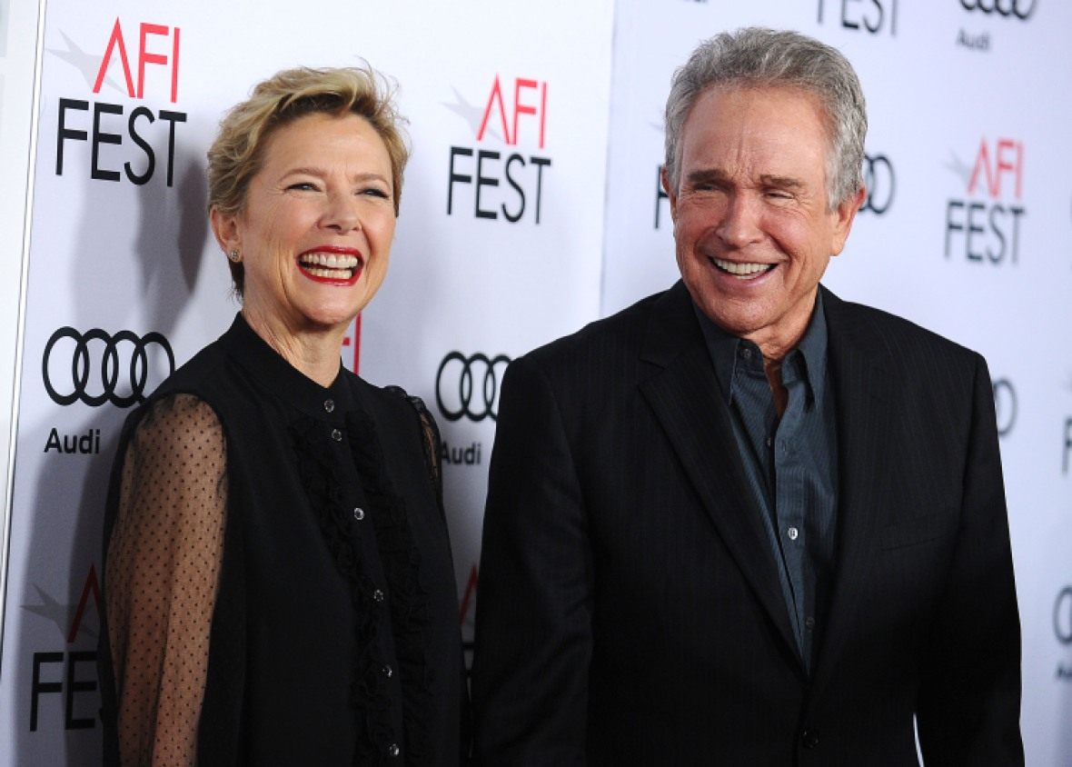 warren beatty annette bening getty images