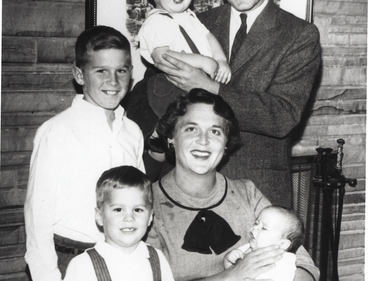 barbara bush family getty images
