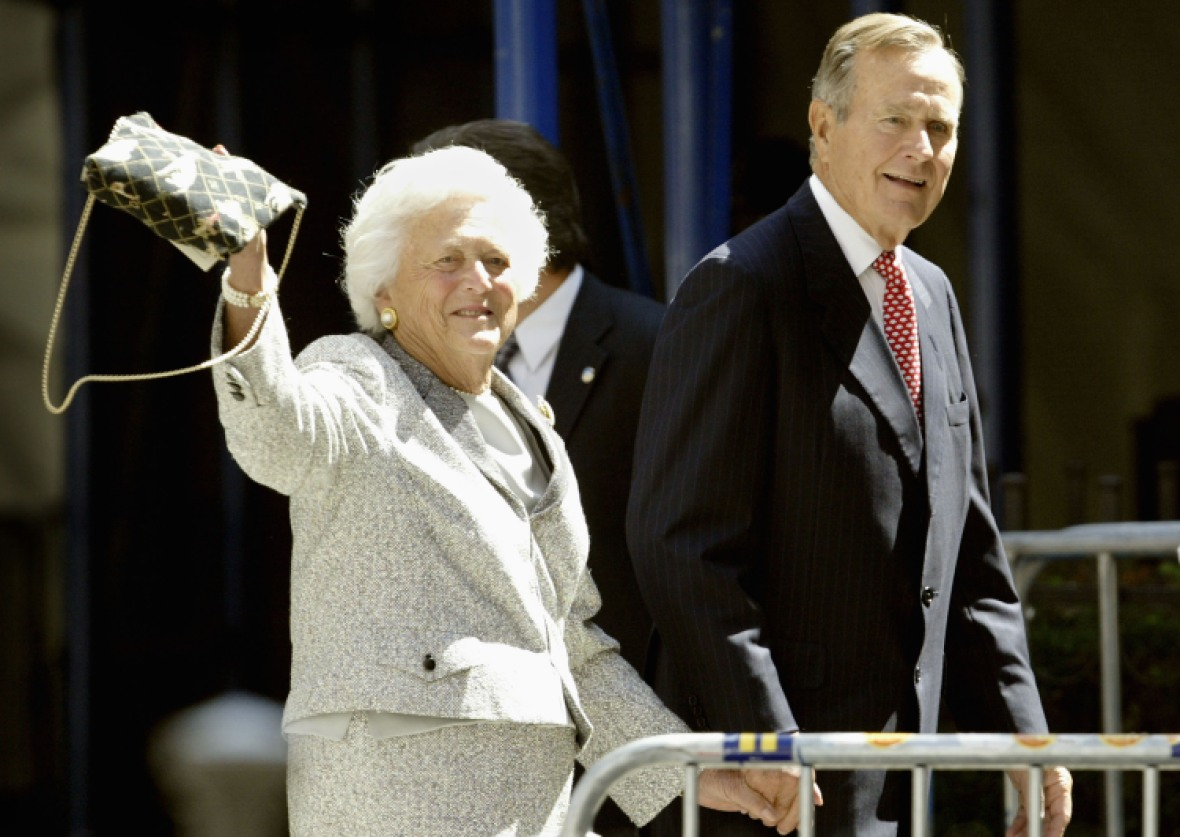 barbara bush getty images