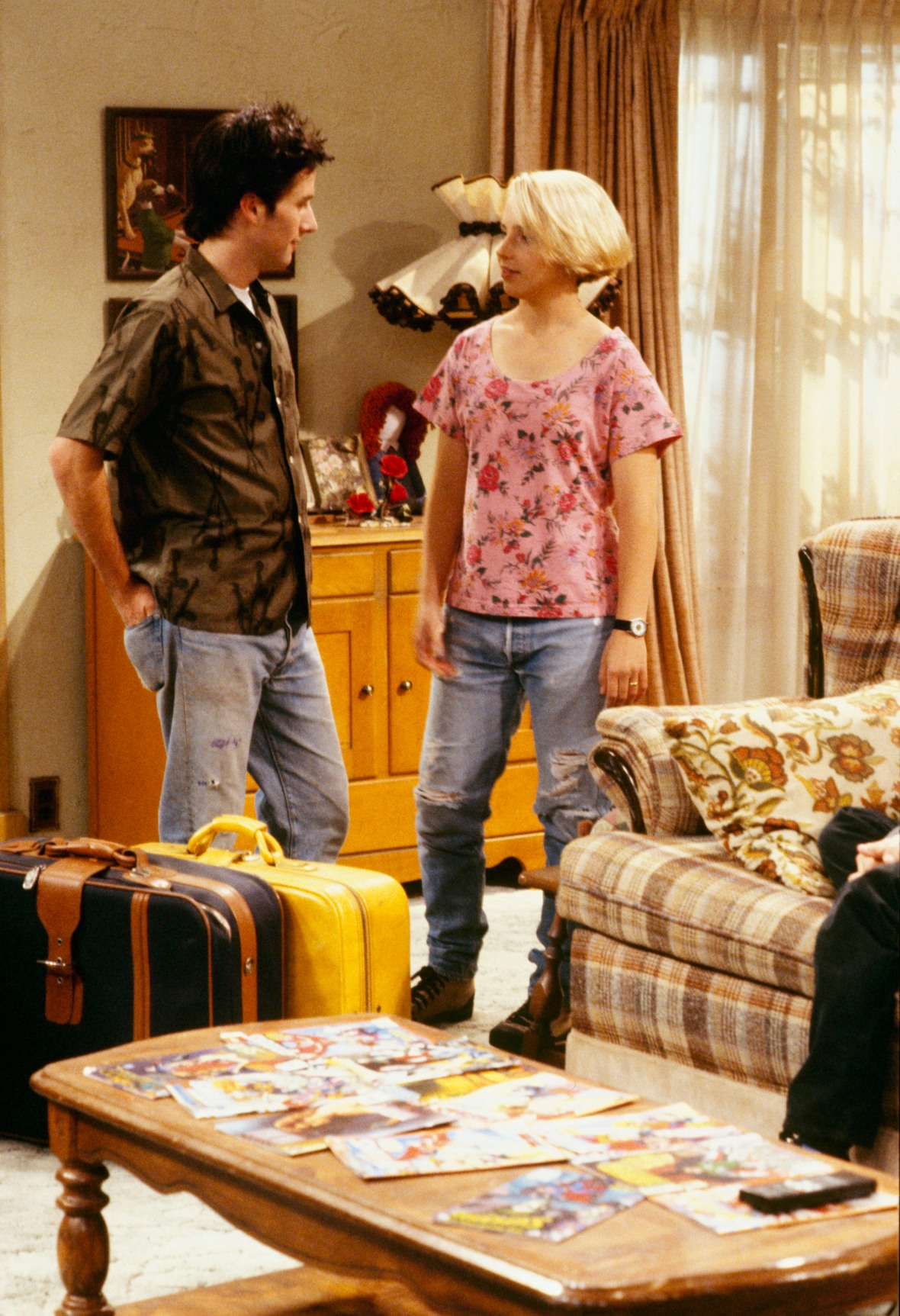 becky conner mark healy roseanne getty images
