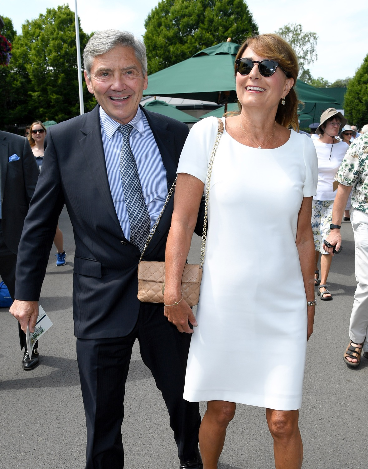 kate middleton's parents getty images