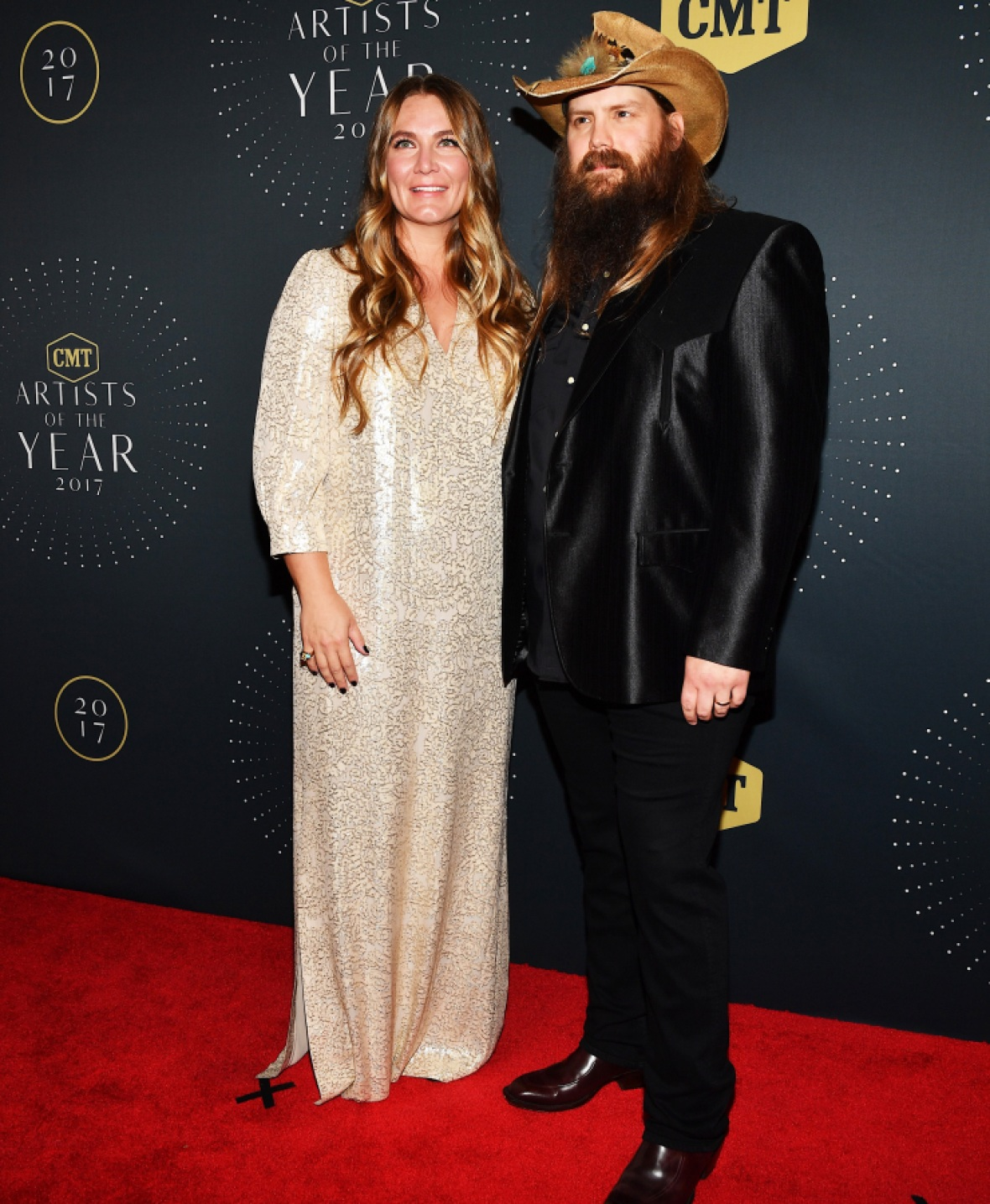 chris stapleton wife getty images