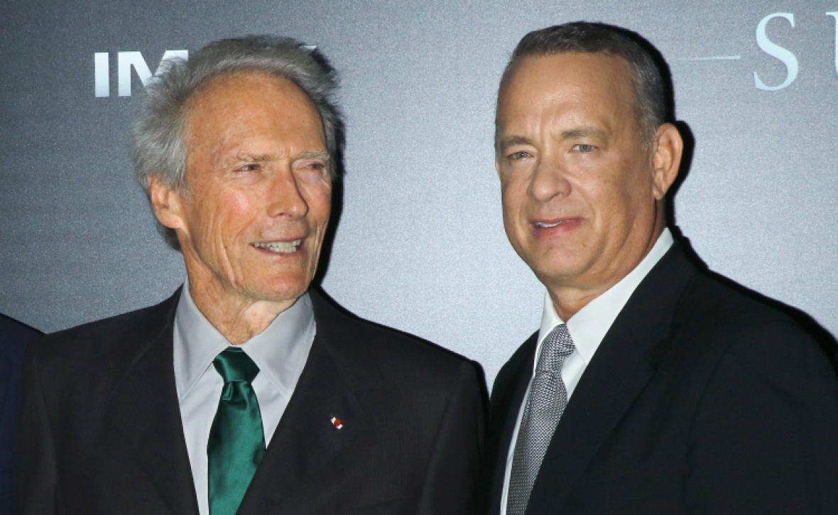 clint eastwood tom hanks getty images