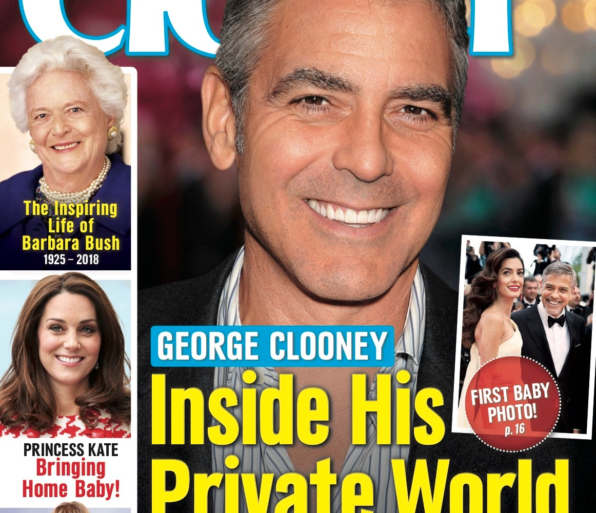 george clooney closer cover