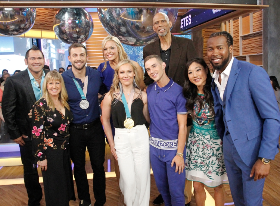 'dancing with the stars' cast getty images