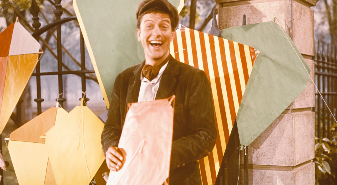 dick van dyke 'mary poppins' getty images