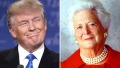 donald-trump-barbara-bush